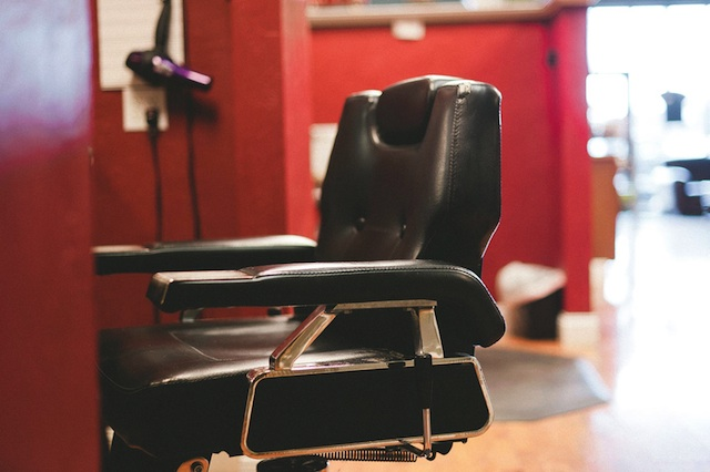 The Man Salon Barber Chair Full Side