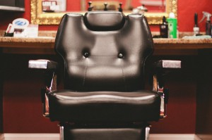 The Man Salon Barber Chair Front Full
