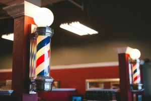 The Man Salon Barber Poles