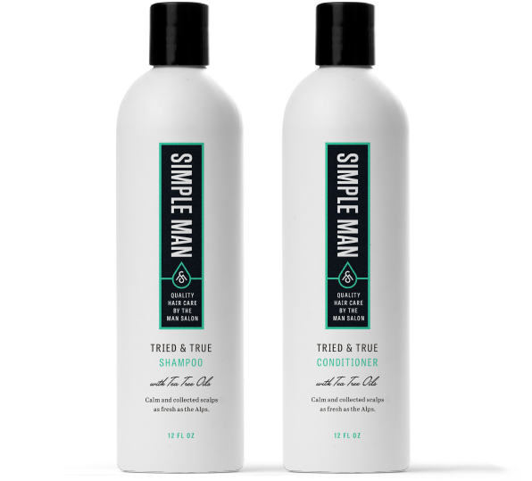 The man salon quality hair care products experience at home for Salon quality shampoo